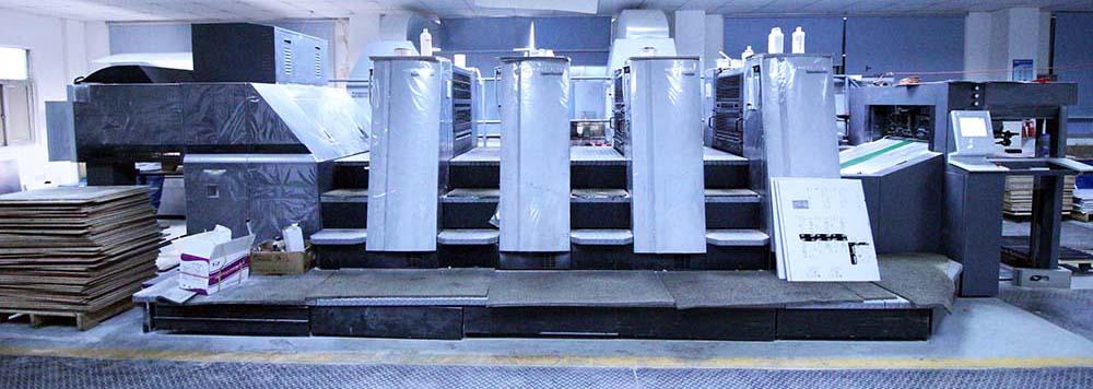 4-color printing press