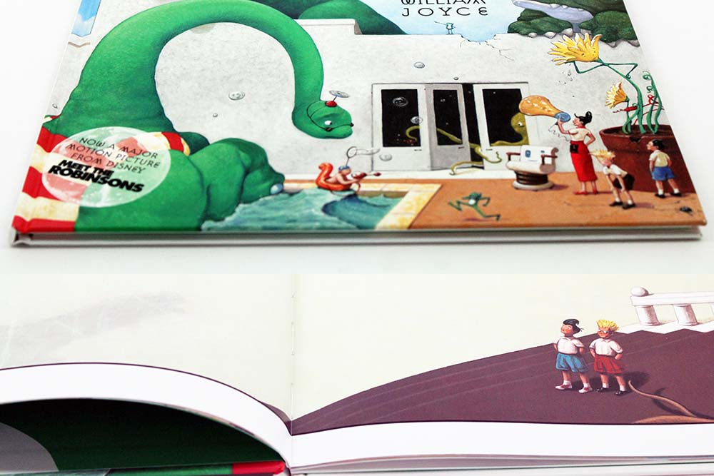 Design a Hardcover Children's Book, A Day With Wilbur Robbins Hardcover Children's Book Example and Specifications Based on Industry Standards