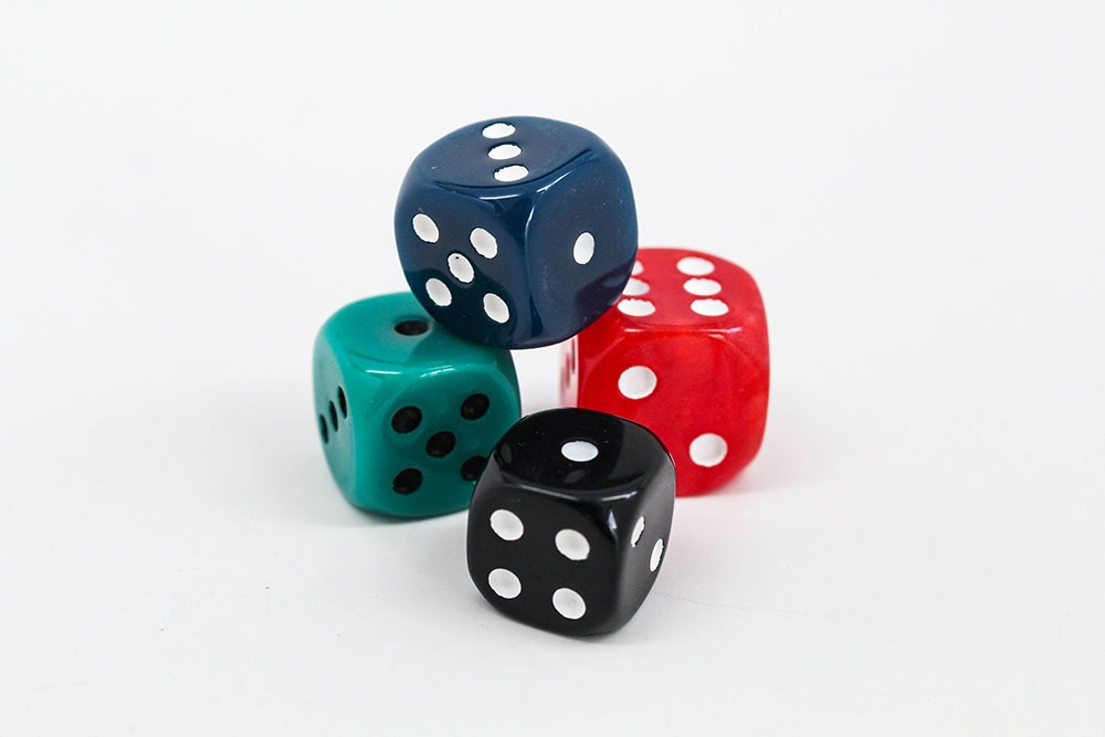 Dice Face Color and Pip Color