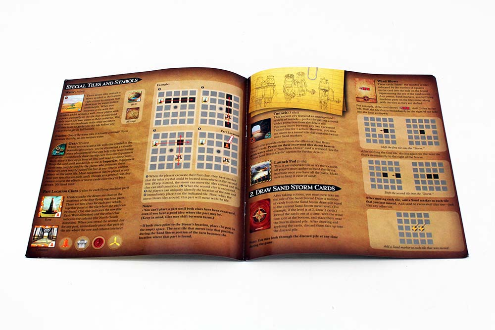 Board Game Industry Standards Rule Book Instructions