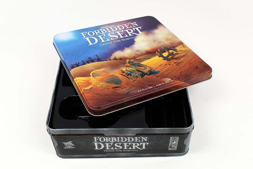 Design an Adventure Game, Board Game Industry Standards Two-Piece Box