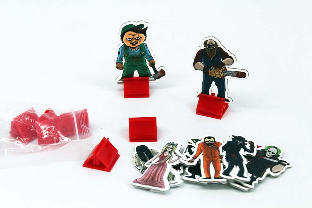 Board Game Industry Standards Characters Card Stands