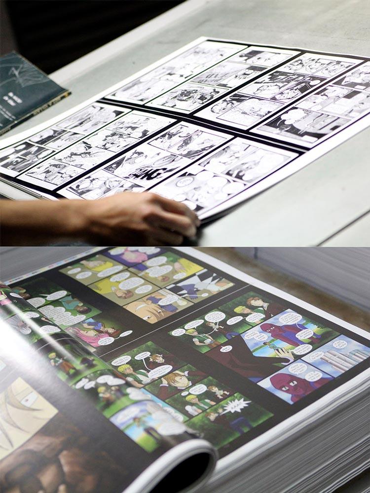 PrintNinja hard copy proofing example