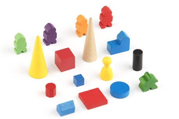 Generic Wood Game Pieces