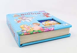 An easy way to make your book durable and soft is to add a padded cover.