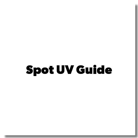 Spot Gloss UV Setup Guide