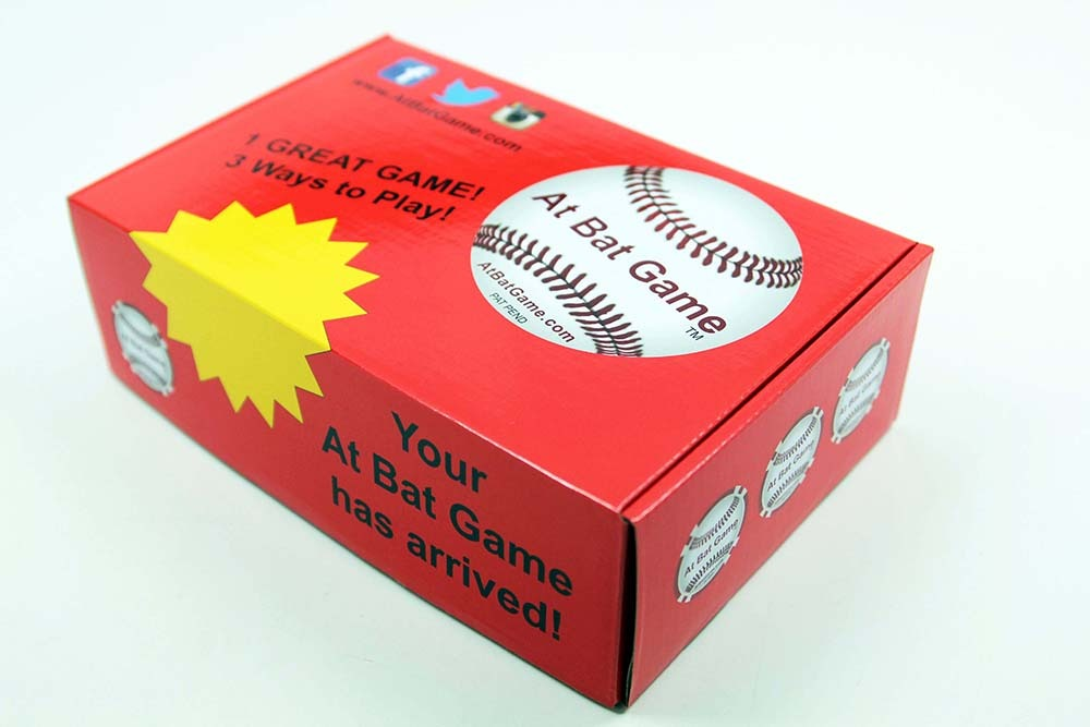 Custom Shipping Box for Books and Games